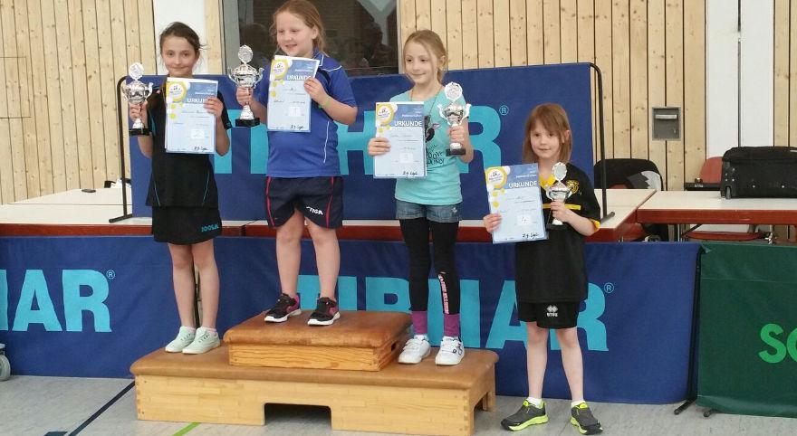 Bezirksentscheid der Tischtennis-Jugend 2016