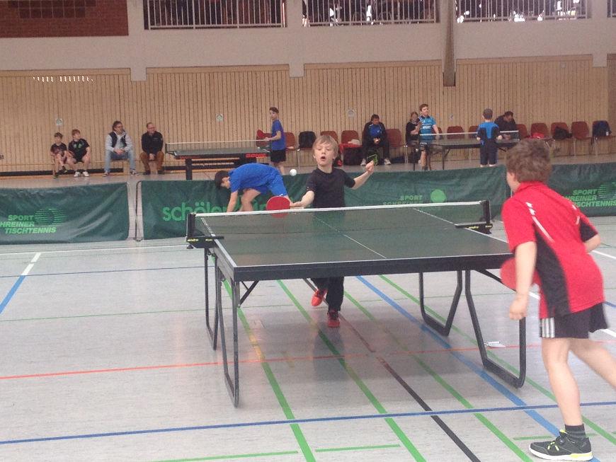Bezirksentscheid der Tischtennis-Jugend 2016 -TSV Rottenbauer
