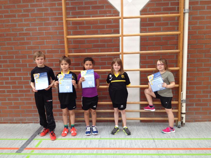 heid der Tischtennis-Jugend 2016 -TSV Rottenbauer