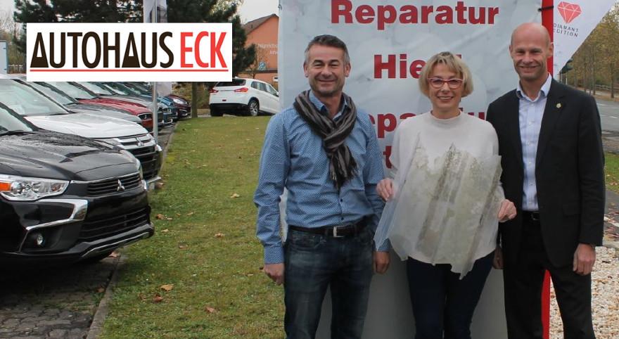 Spende Autohaus Eck - Unwetter 2016