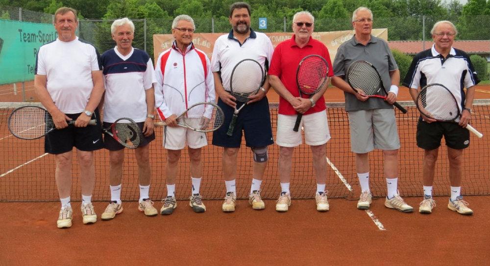 Tennis Herren 60 des TSV-Rottenbauer