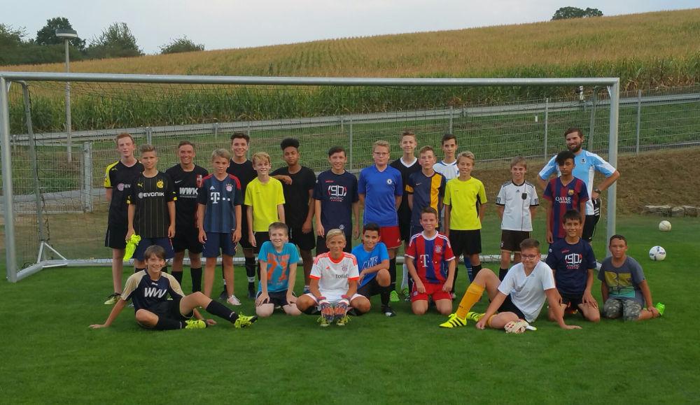 U15 C-Jugend 2016-2017 des TSV Rottenbauer