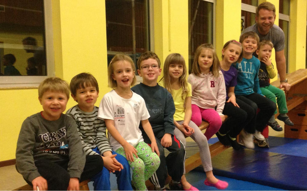 Kinderturnen beim TSV Rottenbauer