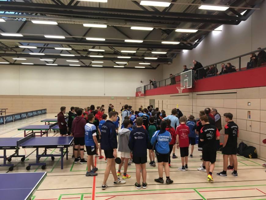 1. Kreisranglistenturnier in Ochsenfurt der Tischtennis-Jugend Bild 1
