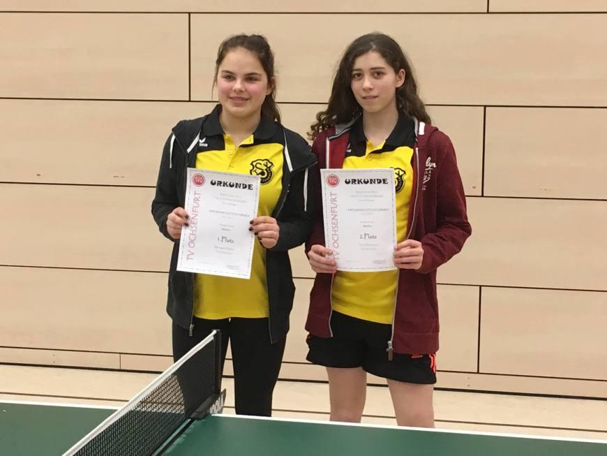 1. Kreisranglistenturnier in Ochsenfurt der Tischtennis-Jugend Bild 2