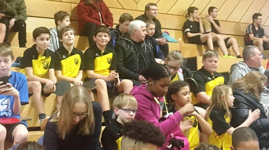 2. Kreisranglistenturnier in Kitzingen der Tischtennis-Jugend Bild 1