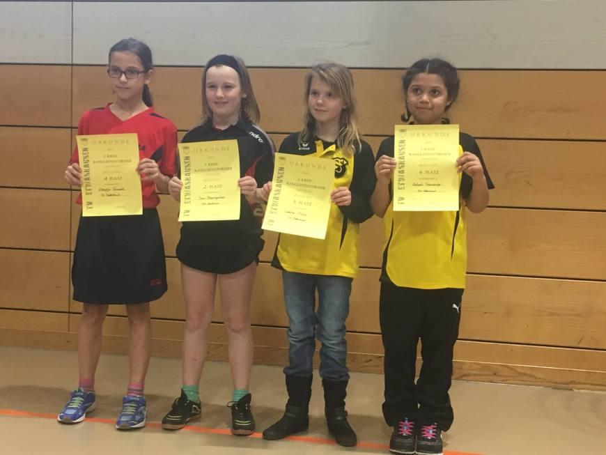 2. Kreisranglistenturnier in Kitzingen der Tischtennis-Jugend Bild 4