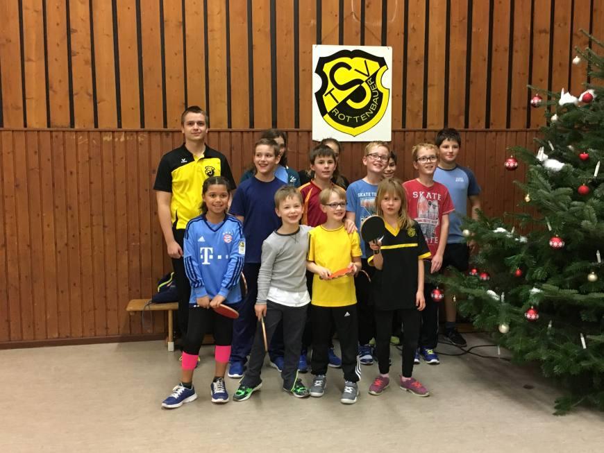 3. mini-Meisterschaften im Tischtennis beim TSV Rottenbauer Bild 1