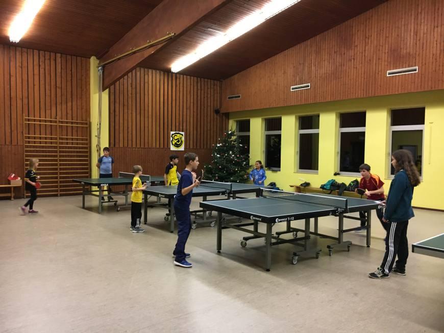 3. mini-Meisterschaften im Tischtennis beim TSV Rottenbauer Bild 2