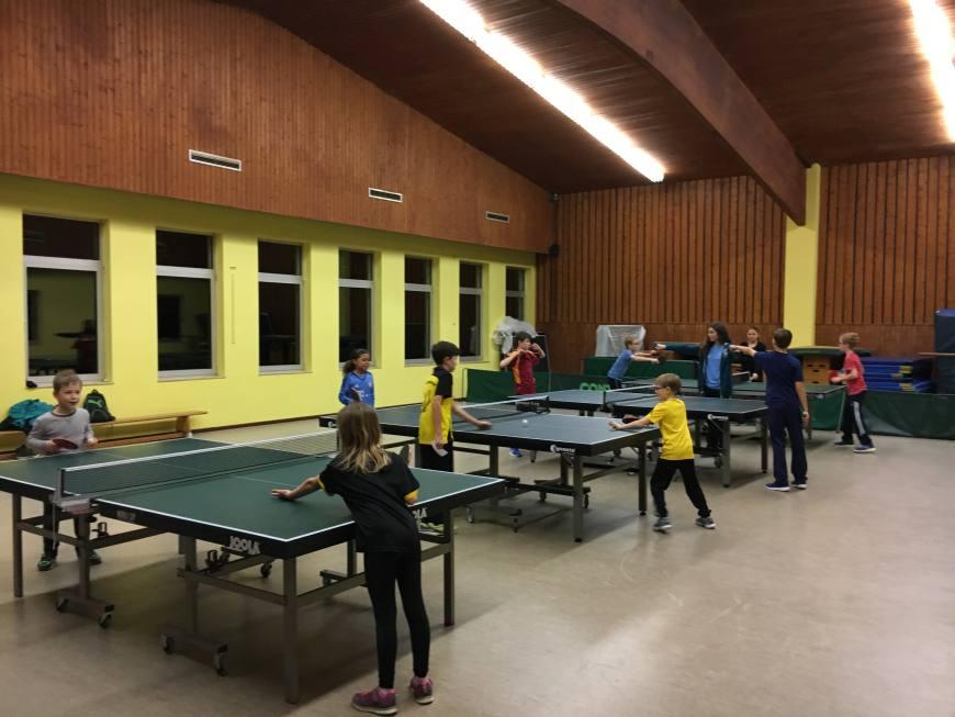 3. mini-Meisterschaften im Tischtennis beim TSV Rottenbauer Bild 3
