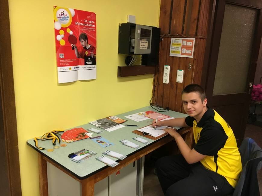 3. mini-Meisterschaften im Tischtennis beim TSV Rottenbauer Bild 6