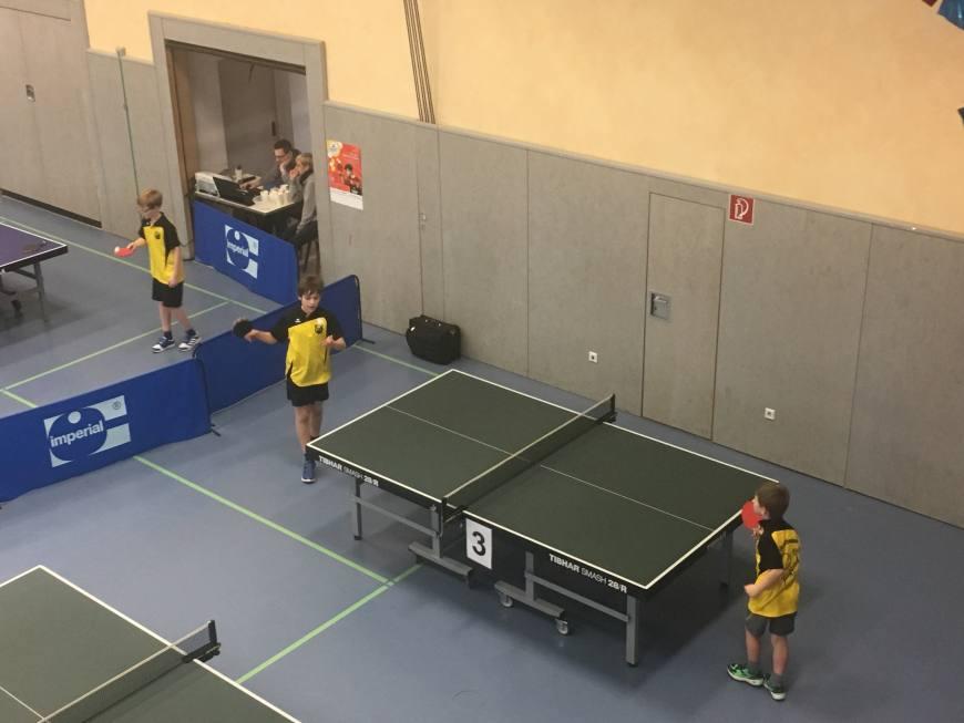 mini-meisterschaften Kreisentscheid Tischtennis am 19.02.2017 Bild 1