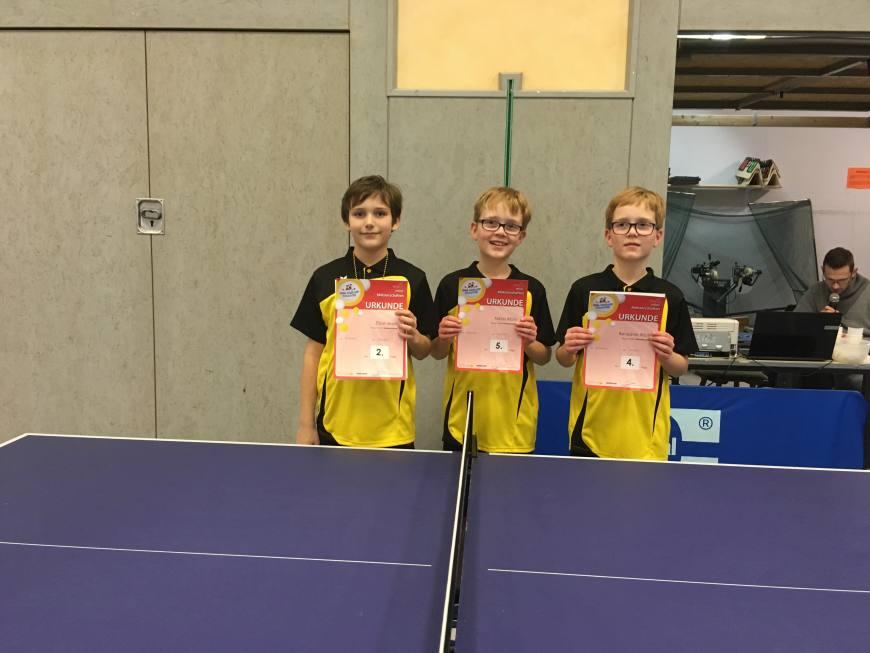 mini-meisterschaften Kreisentscheid Tischtennis am 19.02.2017 Bild 2