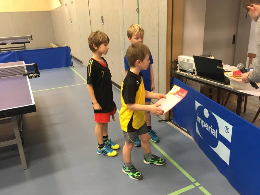 mini-meisterschaften Kreisentscheid Tischtennis am 19.02.2017 Bild 3