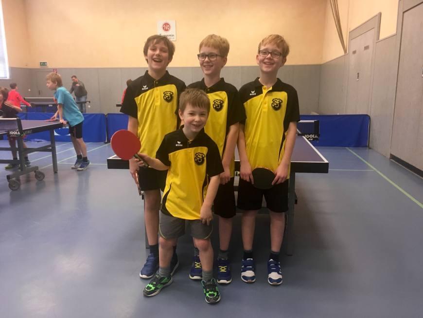 mini-meisterschaften Kreisentscheid Tischtennis am 19.02.2017 Bild 4