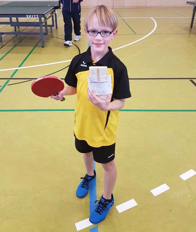 Spieler des Schülerteams der Tischtennis-Jugend vom TSV Rottenbauer