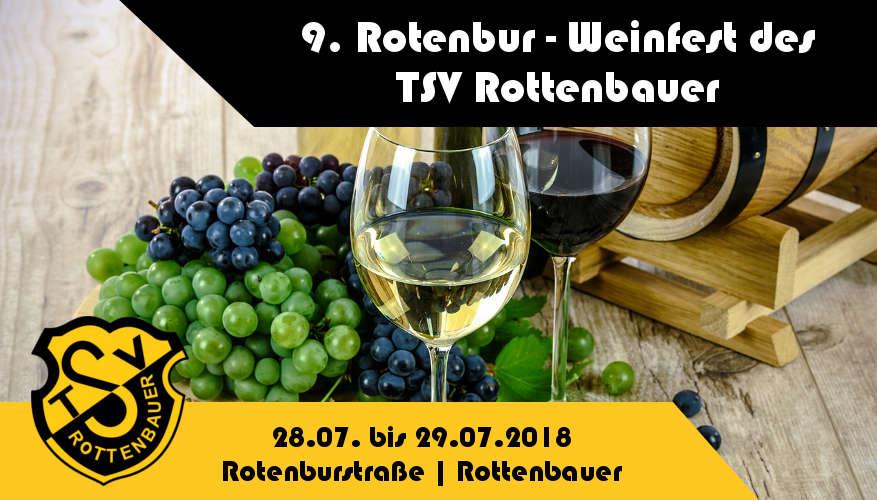 9. Rotenbur Weinfest in Würzburg-Rottenbauer