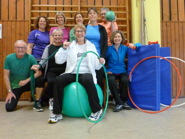Fitness für Frauen TSV Rottenbauer Gruppenbild