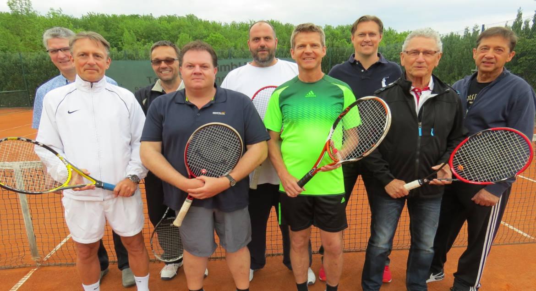 Herren 40 Tennis TSV Rottenbauer Gruppenbild
