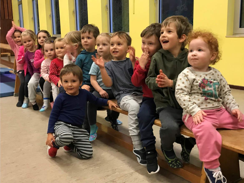 Kinderturnen TSV Rottenbauer Gruppenbild