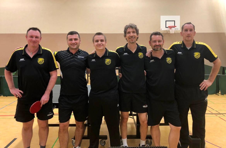 Tischtennis Herren 1 TSV Rottenbauer Mannschaftsbild