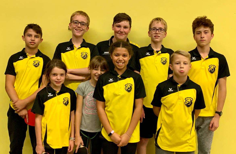 Tischtennis Jugend 2 TSV Rottenbauer Mannschaftsbild