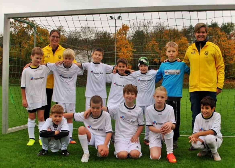 U11 Fußball TSV Rottenbauer Mannschaftsbild