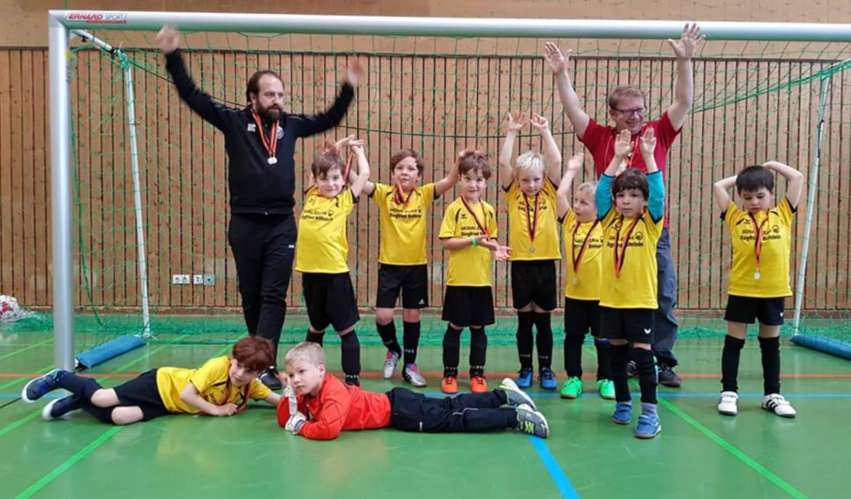 U7 Fußball TSV Rottenbauer Mannschaftsbild