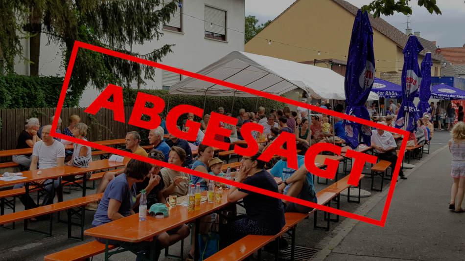 Weinfest 2020 abgesagt