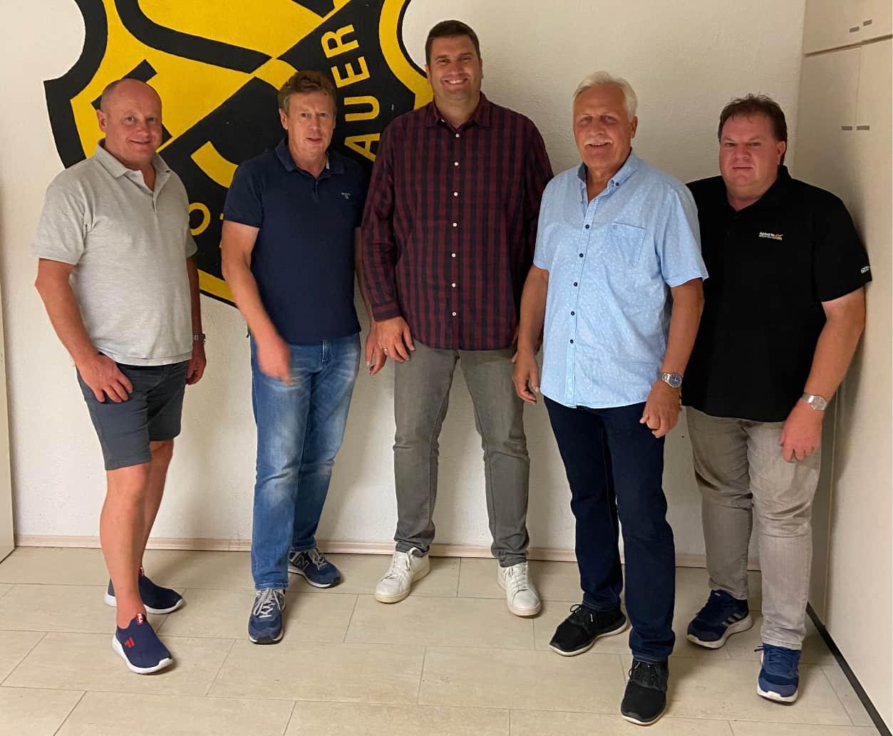 Gruppenbild Vorstandschaft TSV Rottenbauer
